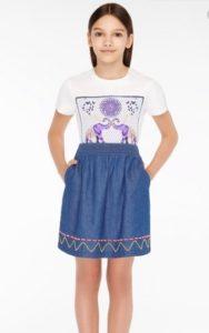 юбка фаберлик для девочек