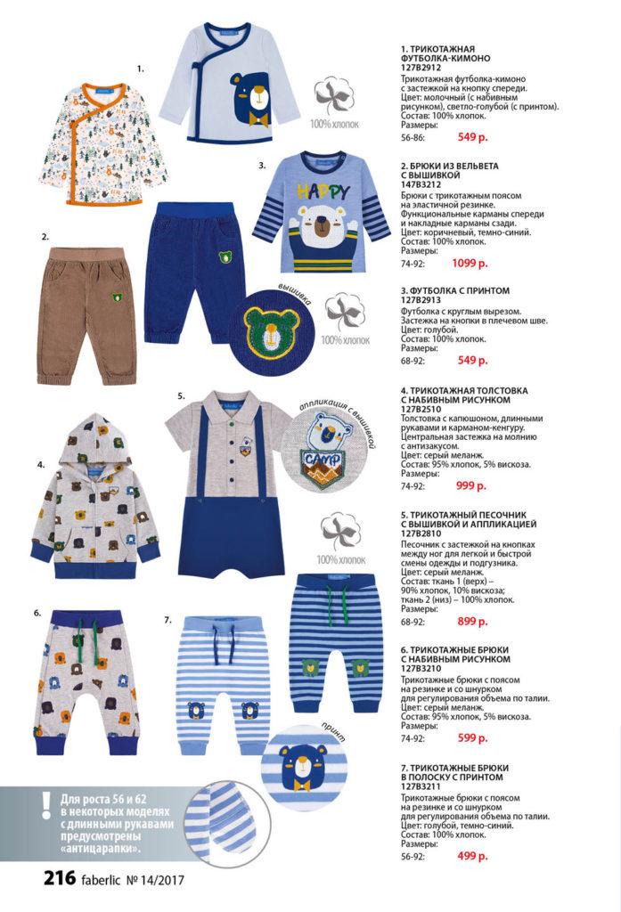 одежда фаберлик для новорожденных 5