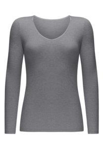 HW167 серый меланж