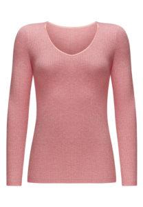 HW164 розовый меланж