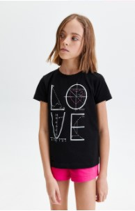футболка для девочки фаберлик