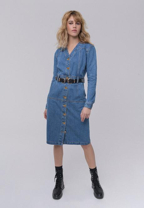 Джинсовое платье Burmatikov 031W4107