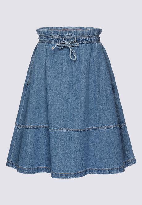 Джинсовая юбка Burmatikov 031W3304