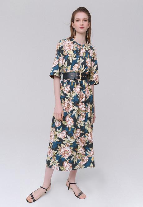 Трикотажное платье серия Burmatikov 031W4113