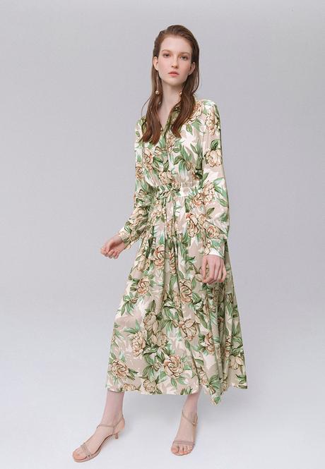 Платье из вискозы Фаберлик Бурматиков