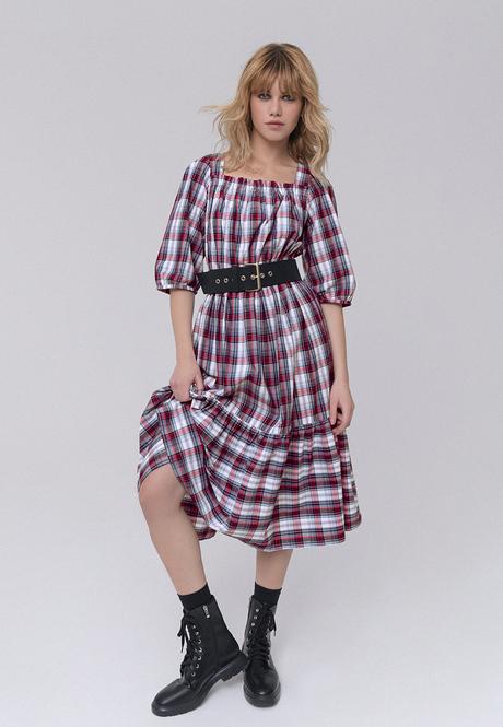 Платье из шамбре серия Бурматиков