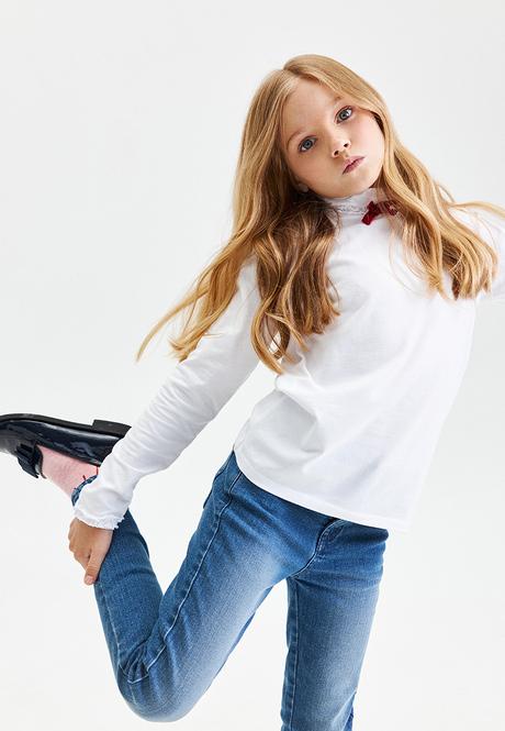 Водолазка для девочки